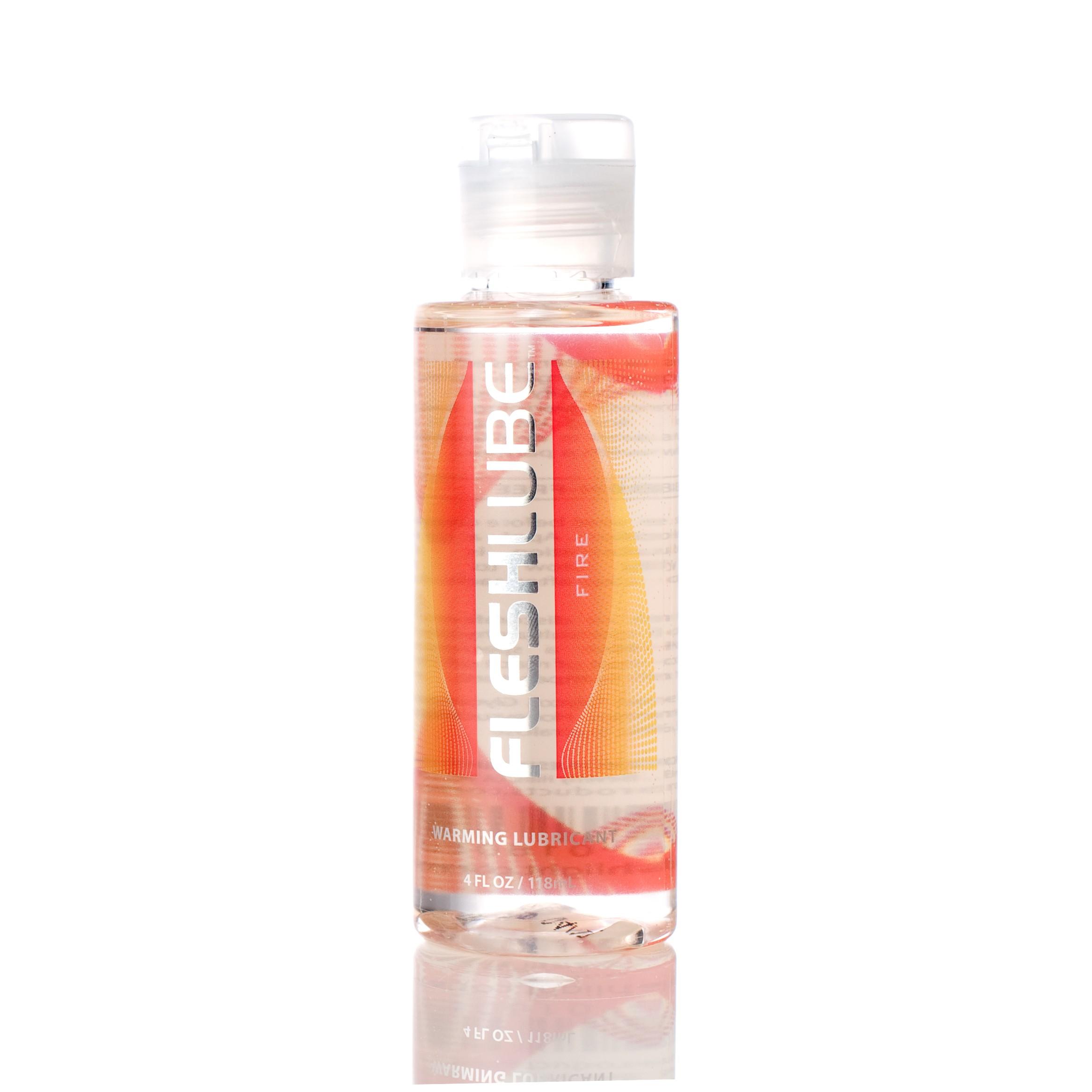 Fleshlube Fire Warming Water Based Lubricant 4oz