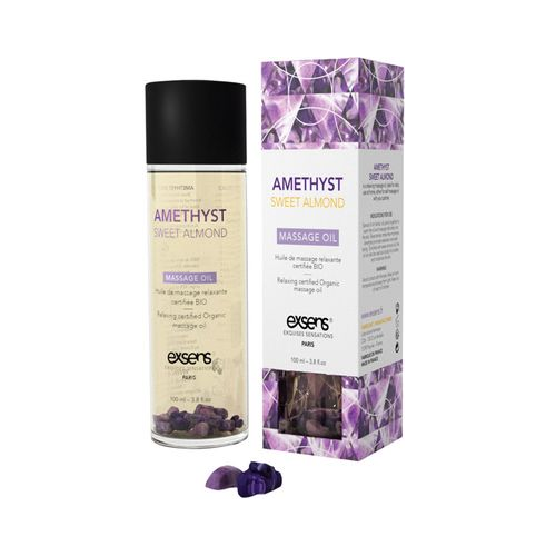 Exsens Amethyst Sweet Almond Massage Oil HUSH Canada 1