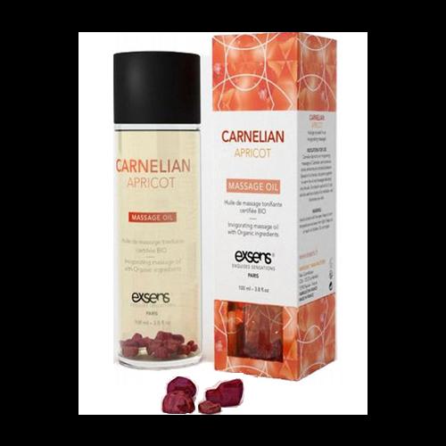 Exsens Carnelian Apricot Massage Oil HUSH Canada 1