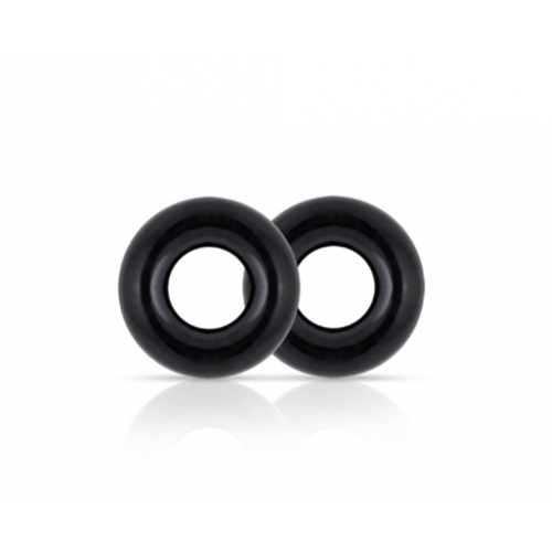 Blush Stay Hard Donut Cock Rings 2 Pack