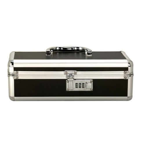 BMS Enterprises Lockable Vibrator Case Black HUSH Canada