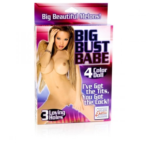 CalExotics Big Bust Babe Blow Up Doll