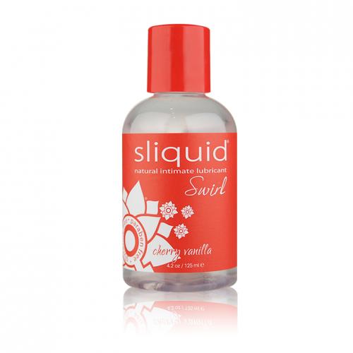 Sliquid Naturals Swirl Gel Lubricant Cherry Vanilla 4.2 oz