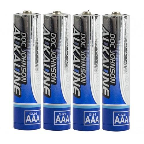 Doc Johnson AAA Alkaline Batteries 4 Pack