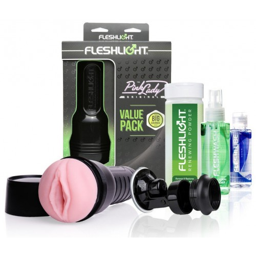 Fleshlight Pink Lady Original Value Pack