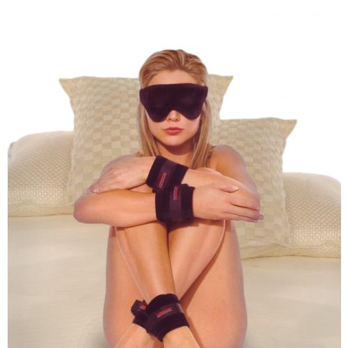 Liberator Plush Seduction Kit Black