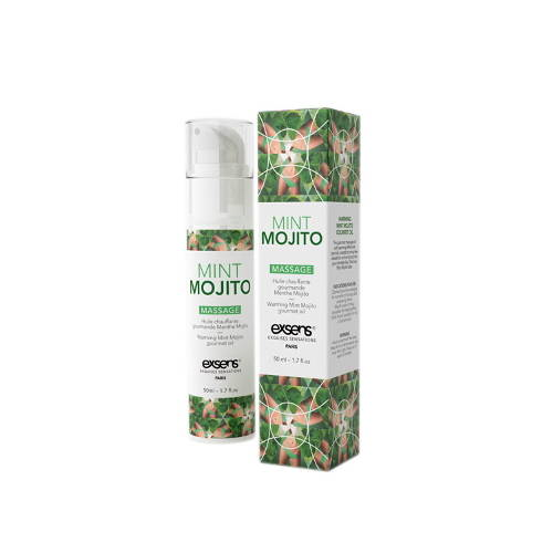 Exsens Mint Mojito Edible Warming Massage Oil HUSH Canada 1