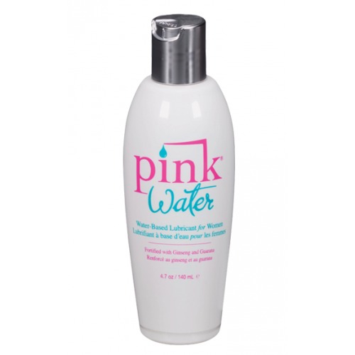 Pink Water Based Lubricant for Women 4.7oz