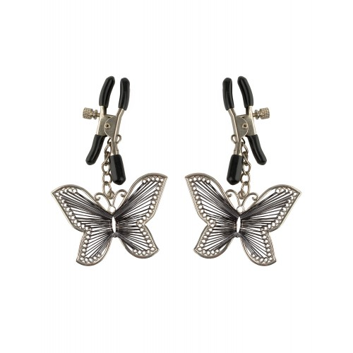 Pipedream Fetish Fantasy Series Butterfly Nipple Clamps