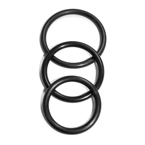 Sex and Mischief Nitrile Cock Rings 3 Pack