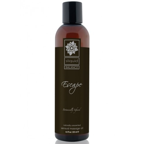 Sliquid Balance Sensual Massage Oil Escape 8.5oz