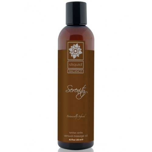 Sliquid Balance Sensual Massage Oil Serenity 8.5oz