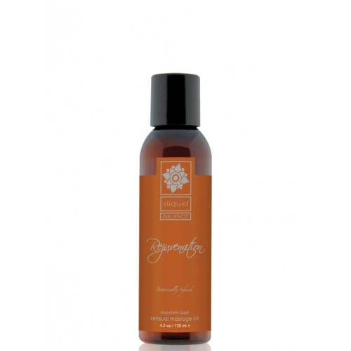 Sliquid Balance Sensual Massage Oil - Rejuvenation 4.2oz