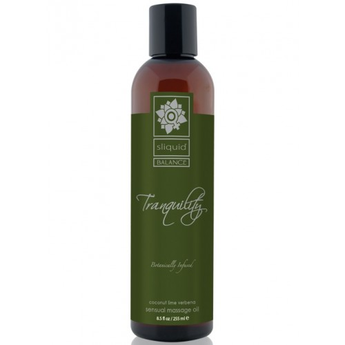 Sliquid Balance Sensual Massage Oil - Tranquility 8.5oz