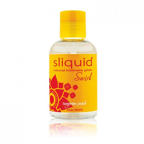 Sliquid Naturals Swirl Gel Lubricant Tangerine Peach 4.2 oz