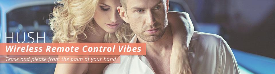 Wireless Remote Control Vibrators